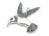 Hummingbird - Pewter Pendant 66mm (PW903)