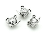 Teapot - Pewter Pendant 12mm (PW1180)