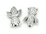Pewter Bead - Goldfish 22mm (PB801)