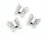 Pewter Bead - Butterfly 13mm (PB819)