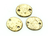 Brass Pewter Bead - Connector 11mm (PB838)