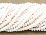 Ivory Crystal Glass Beads 4mm (CRY320)