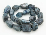 Kyanite Faceted Nugget Gemstone Beads 18-26mm (GS4273)