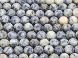 Matte Sodalite Round Gemstone Beads 8mm (GS4283)