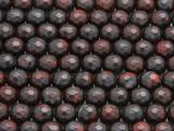 Brecciated Jasper Faceted Round Gemstone Beads 8mm (GS4289)