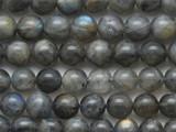 Labradorite Round Gemstone Beads 8mm (GS4345)