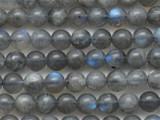 Labradorite Round Gemstone Beads 6mm (GS4347)