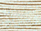 Opal Rondelle Gemstone Beads 3mm (GS4359)