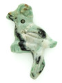 Mayan Carved Jade Amulet 32mm (GJ229)