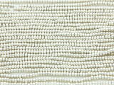 Bright Silver Metallic Glass Seed Beads - 10/0 (SB177)