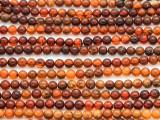 Genuine Amber Round Beads 3-4mm (AB75)
