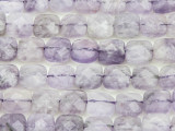 Amethyst Faceted Tabular Square Gemstone Beads 9mm (GS4378)