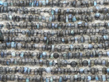 Labradorite Irregular Heishi Gemstone Beads 1-3mm (GS4393)