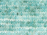 Matte Apatite Saucer Gemstone Beads 2-4mm (GS4395)