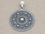 Ornate Medallion Pendant 50mm (AP1926)