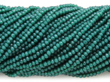 Emerald Green Crystal Glass Beads 2mm (CRY420)