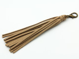 "Tan Leather Tassel - 5"" (LR85)"