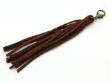 "Brown Leather Tassel - 5"" (LR86)"