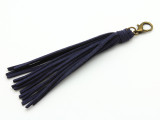"Blue Leather Tassel - 5"" (LR87)"