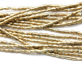 Brass Rice Beads 6mm - Ethiopia (ME5710)