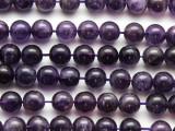 Amethyst Round Gemstone Beads 10mm (GS4465)