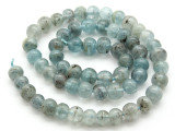 Kyanite Irregular Round Gemstone Beads 7-8mm (GS4512)