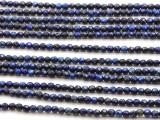 Lapis Lazuli Faceted Round Gemstone Beads 4mm (GS4522)