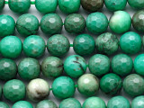 Chrysoprase Faceted Round Gemstone Beads 8mm (GS4524)
