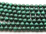 Malachite Round Gemstone Beads 10mm (GS4528)
