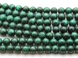 Malachite Round Gemstone Beads 10mm (GS4528)