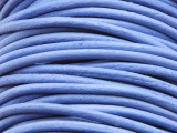 "Light Blue Leather Cord 2mm - 36"" (LR96)"