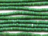 Green Heishi Glass Beads 6mm (JV1213)
