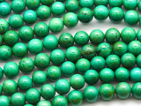 Green Turquoise Round Beads 8mm (TUR1312)