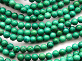 Green Turquoise Round Beads 6mm (TUR1317)
