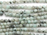 Matte Kiwi Jasper Round Gemstone Beads 6mm (GS4615)