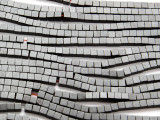 Gunmetal Gray Electroplated Hematite Cube Gemstone Beads 3mm (GS4641)