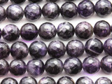 Amethyst Faceted Round Gemstone Beads 12mm (GS4644)