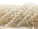 Clear Crystal Glass Beads 8mm (CRY516)