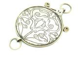 Afghan Tribal Silver Pendant - Amulet 95mm (AF780)