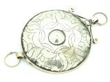 Afghan Tribal Silver Pendant - Amulet 105mm (AF795)
