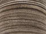 "Taupe Brown Suede Leather Lace 3mm - 36"" (LR104)"