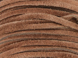"Brown Suede Leather Lace 3mm - 36"" (LR106)"