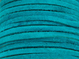 "Turquoise Suede Leather Lace 3mm - 36"" (LR110)"