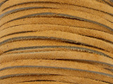 "Tan Suede Leather Lace 3mm - 36"" (LR113)"