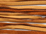 "Tan Deerhide Leather Lace 3mm - 36"" (LR118)"