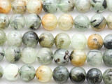 Prehnite Round Gemstone Beads 10mm (GS4659)