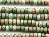 Chrysoprase Faceted Rondelle Gemstone Beads 8mm (GS4663)