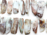 Australian Opal Graduated Stick Gemstone Beads 21-50mm (GS4666)