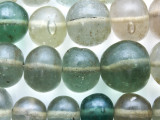 Multi-Color Large Round Recycled Glass Beads 20-32mm - Indonesia (RG633)