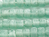 Frosty Coke Bottle Recycled Glass Beads 8-12mm - Indonesia (RG667)
